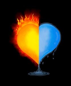 Hot cold heart