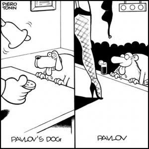 Pavlov's Doggie-Style cartoon